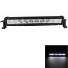 GULEEK 100W 6000K 7000lm Type/H 10-LED White Spot + Flood Light Work Lamp Bar for Car / Boat