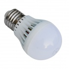 JIAWEN E27 3W 250lm 3200K 6 x SMD 5730 LED Warm White Light Bulb