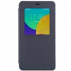 NILLKIN Protective PU Leather + PC Case Cover w/ Visual Window for MEIZU MX4 Pro - Black