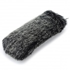 Universal Large Rabbit Hair Camera Microphone Cover / Windscreen - Blackish Grey