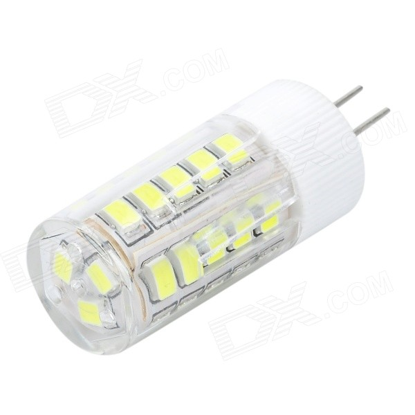 JRLED G4 5W Neutral White Light LED Bulb (AC 220V)G4<br>Form ColorWhite + Transparent + Multi-ColoredColor BINNeutral White - AC 220VMaterialCeramics + PC + LEDQuantity1 PiecePower5WRated VoltageAC 220 VConnector TypeG4Chip BrandHugaChip Type835Emitter TypeOthers,2835 SMDTotal Emitters33Theoretical Lumens400 lumensActual Lumens200~400 lumensColor Temperature5000K,6000-6300KDimmablenoBeam Angle360 °WavelengthNoCertificationCE, RoHSPacking List1 x Bulb<br>