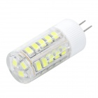 JRLED G4 5W LED Bulb Lamp White Light 400lm 6300K 35 x 2835 SMD - White + Transparent (AC 220V)
