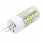 JRLED G4 5W branco neutro luz LED bulbo (ac 220V)