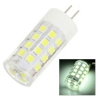 JRLED G4 5W LED Light Lamp Bulb White 6300K 200lm 34-SMD 2835 - White + Yellow (12V)