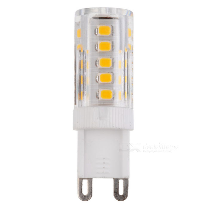 JR-LED G9 5W 400LM 3000K 2835 SMD LED Warm White Light Lamp (AC 220V)