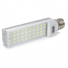 JRLED E27 9W Bluish White Light LED Lamp - White + Yellow