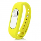 Sports Wrist Band Digital Voice Recorder w/ 4GB RAM - Yellow + Silver