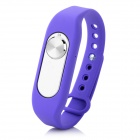 Sports Wrist Band Digital Voice Recorder w/ 4GB RAM - Purple + Silver