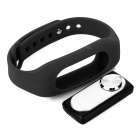 Sports Wrist Band Digital Voice Recorder w/ 4GB RAM - Black + Silver