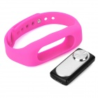 Sports Wrist Band Digital Voice Recorder w/ 4GB RAM - Deep Pink