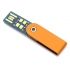 Ultra Bright Rotatable 4-LED USB Lamp w/ Aluminum Alloy Shell
