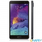 "Uhappy UP570 Android 4.4 Quad-Core WCDMA Bar Phone w / 5,7 ""HD, 8 GB ROM, 8.0MP, OTG GPS, WiFi - Schwarz"