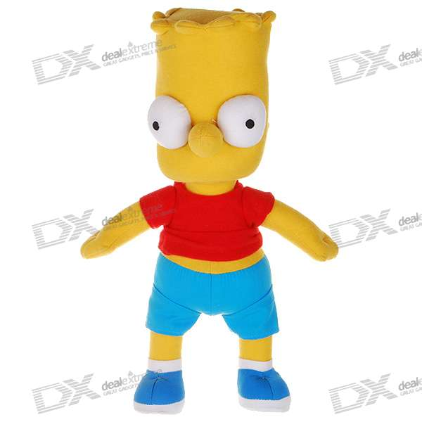 The Simpsons Plush Doll Figure - Bart simpsons