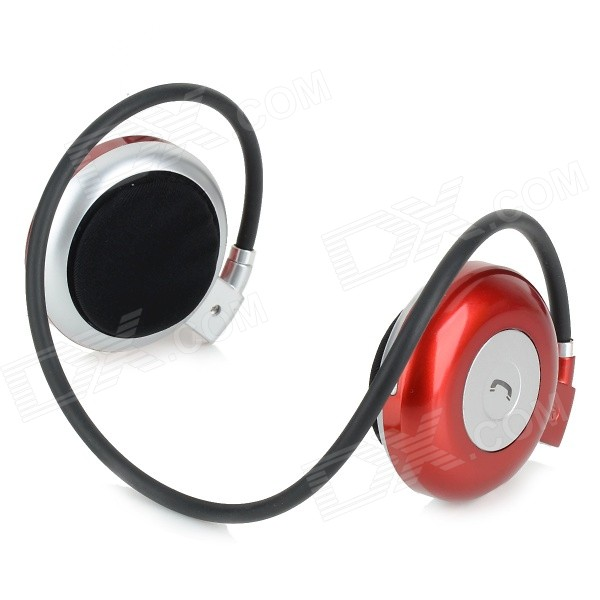 MAGIFT3 Bluetooth V3.0 Flexible Headband Headphone w/ Mic - Red