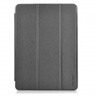 "Protective PU Leather Flip Open Case w/ Stand for 9.7"" CUBE I6 - Black + Dark Grey"