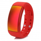 W4 USB Smart Bracelet Watch w/ 3D Pedometer / Mood Signature / 8GB USB Flash Disk - Red