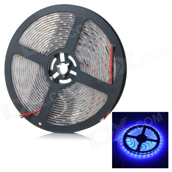 JRLED 72W 3000lm 470nm 5630 SMD Blue Waterproof Soft Light Strip