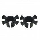 CARKING Car HID Xenon Bulb Holder Socket for New Honda Odyssey / Lingyue H1 - Black (2PCS)