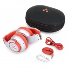Syllable G800 Foldable Bluetooth V4.0 Headband Headphone - Red