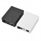 RJ45 Single Mode Fiber Video Media Converter / Transceiver (2PCS)