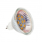 MR16 5W 180lm 3000K 12 x 5730 SMD LED Warm White Light Lamp - White (DC 12V)