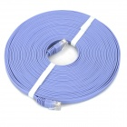 Copper Ultra-thin RJ45 Cat6A 2000Mb/s Flat Network Cable - Light Purple (10m)