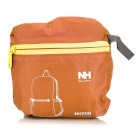 NatureHike Sports Polyester + Nylon Foldable Backpack - Orange