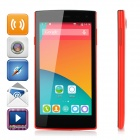 iNew V1 5.0 MT6582 Quad-Core WCDMA Android 4.4 Phone w/ Wi-Fi / GPS / 1GB RAM / 8GB ROM - Red