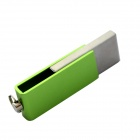 USB 2.0 Mini Flash Drive - Green + Silver (32GB)