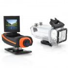 "CARVUN AT100 Wi-Fi 1,5 ""TFT 12.0MP CMOS 1080P Full HD Спорт на открытом воздухе Digital Video Camera - Orange"