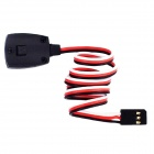 SK-TS2 0~80'C Temperature Sensor Tester for Aircraft B6 / B8 Charger - Black + Red