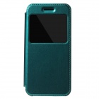 KALAIDENG Protective PU Leather + TPU Case w/ Stand / View Window for IPHONE 6 - Green