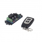 ZnDiy-BRY 1CH Learning Code Remote Control Switch + Ultra-thin Dual-Key Remote Controller