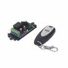 ZnDiy-BRY 1CH Learning Code Remote Control Switch + 1-Button Wireless Remote Control - Black (12V)