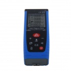 "CP-100 2.5"" Display Handheld Laser Distance Meter Rangefinder - Black + Blue (100m)"