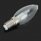 HH-080 E14 5W 140lm 25-SMD 3014 White Light Candle Lamp (AC 220V)