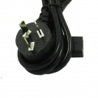 90 Degrees Elbow Computer Chassis Power Cord - Black (1.5m)