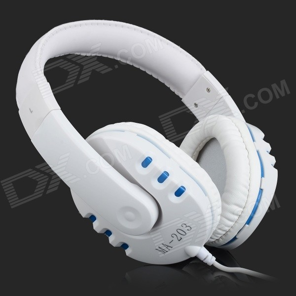 casque intra auriculaire maibosi ma 203 w mic blanc bleu envoie gratuit. Black Bedroom Furniture Sets. Home Design Ideas