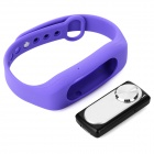 Sports Wrist Band Digital Voice Recorder w/ 16GB RAM - Purple + Silver