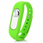 Sports Wrist Band Digital Voice Recorder w/ 16GB RAM - Green + Silver