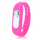 Sports Wrist Band Digital Voice Recorder w/ 16GB RAM - Deep Pink