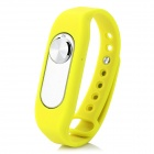 Sports Wrist Band Digital Voice Recorder w/ 16GB RAM - Yellow + Silver