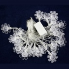 15W 500lm 28-LED RGB Sunflower Modelling Holiday Decorative Light String (4M / AC 220V / EU Plug)