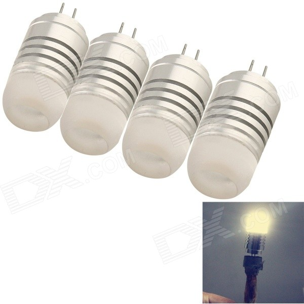 YouOkLight G4 4W 380lm 3000K 3020 SMD Warm White Light Bulb Lamp(4PCS)
