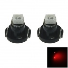 T3 0.1W 10lm 680nm 1210 SMD LED Red Light Car Dash Board Instrument Lamp (DC 12V / 2PCS)