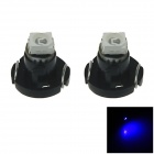 T3 0.1W 10lm 480nm 1210 SMD LED Blue Light Car Dash Board Instrument Lamp (DC 12V / 2PCS)