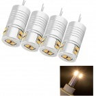 YouOkLight G4 4W 380lm 8-SMD 3014 Warm White Light Lamp(4PCS)
