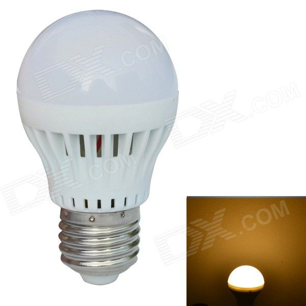 JIAWEN E27 5W 420lm 3200K 10-SMD 5730 LED Warm White Light Bulb