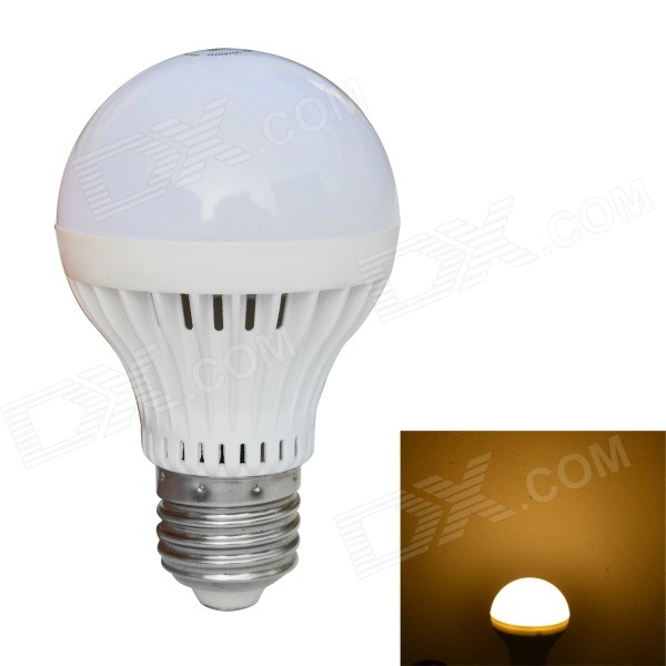 JIAWEN E27 7W 560lm 3200K 14-SMD 5730 LED Warm White Light Bulb