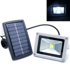 Light Control Solar Energy LED Light Lamp for Garden / Outer Wall / Corridor / Balcony - White